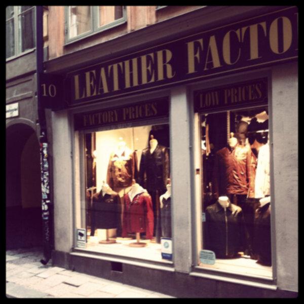 leather factory gamla stan