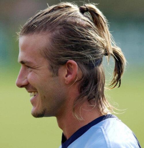 spara långt hår kille