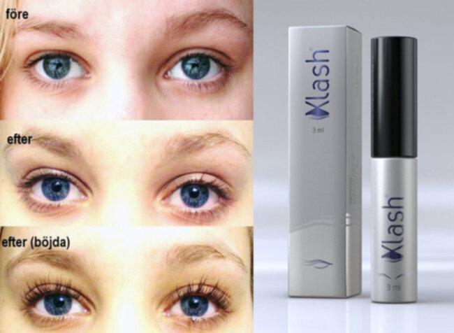 Längre och fylligare ögonfransar
