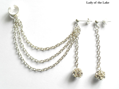 Ear cuff set fr&aring;n Lady of the Lake