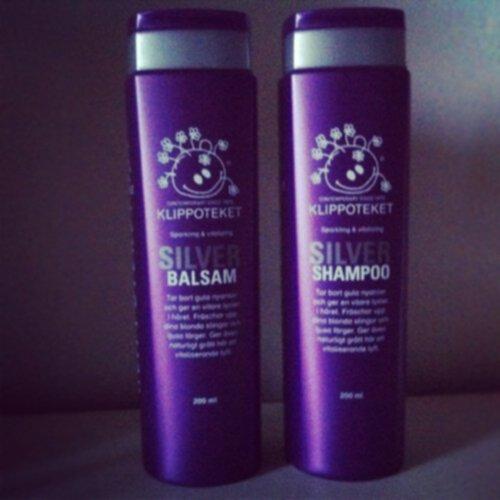 klippoteket silver shampoo