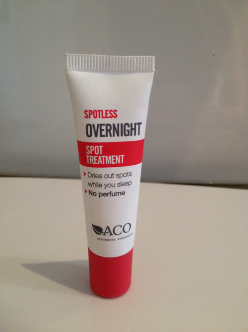 aco spotless overnight spot treatment review