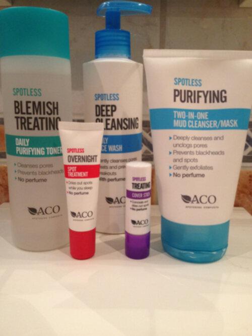 aco spotless daily moisturiser recension