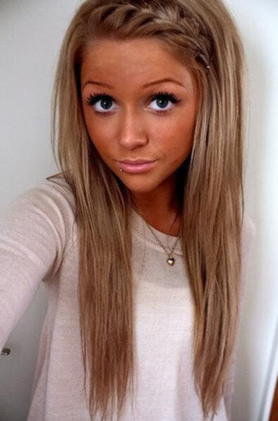 färga håret ljusbrunt