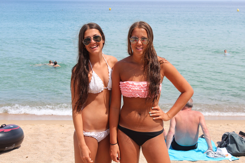 snygga tjejer i bikini