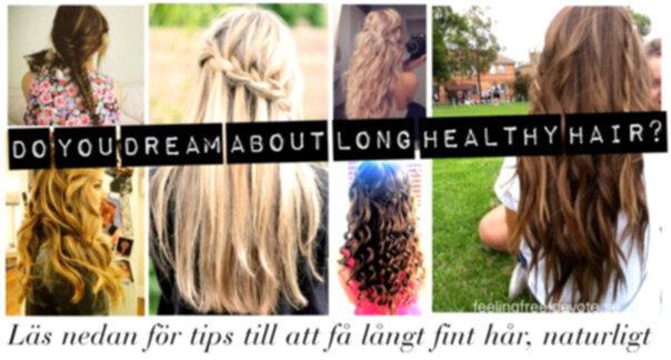 tips till långt hår