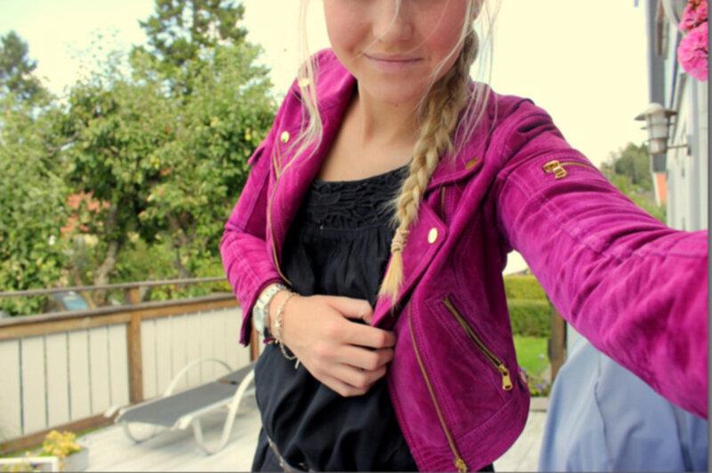 rockandblue jakke pink