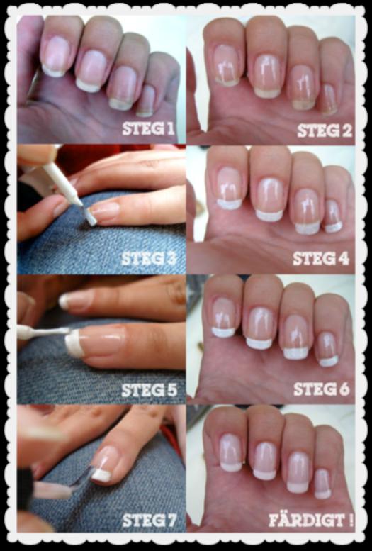 naglar steg för steg