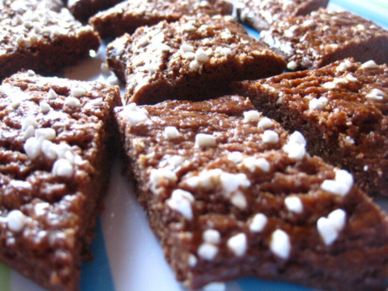 bruna bröd kakor