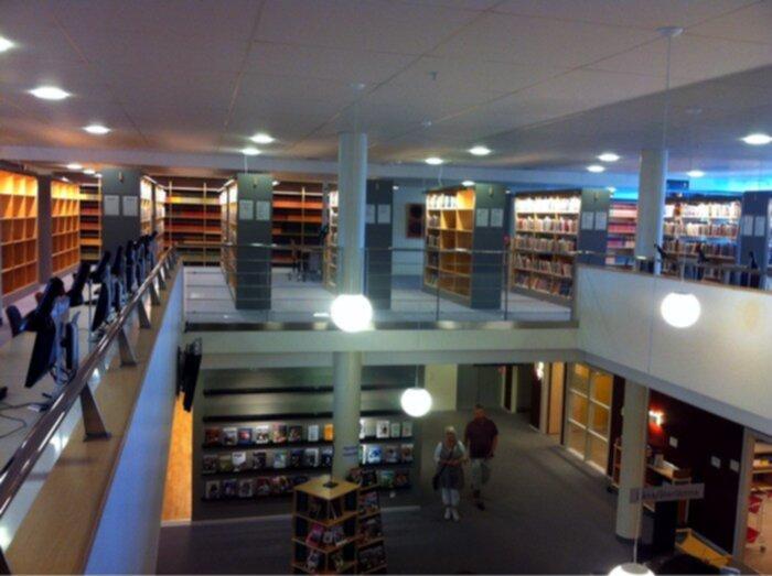 högskolan väst bibliotek