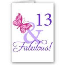 grattis 13 år 13år!!!! grattis 13 år