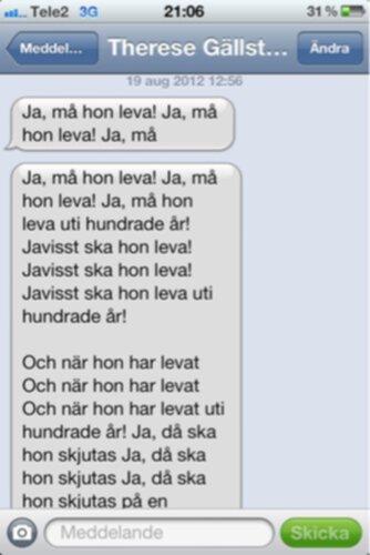 grattis meddelande Grattis sms, part 1 grattis meddelande